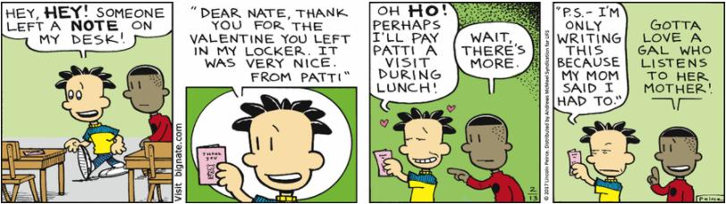 Comic Strip: February 13, 2017