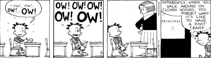 Comic Strip: April 12, 2003