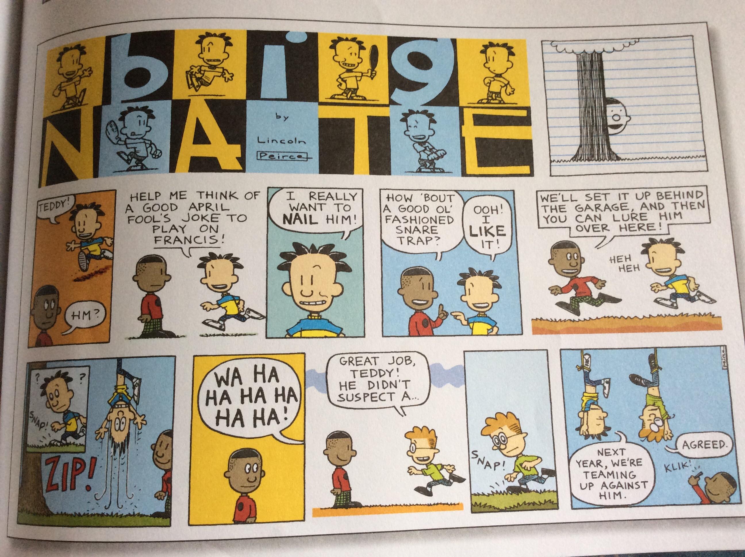 Comic Strip: April 1, 2012