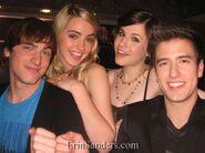 Kendall,Katelyn,Erin en Logan