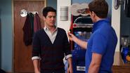 Jett offers Logan cheese