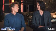 BILL & TED FACE THE MUSIC Behind the Scenes - A Most Triumphant Duo