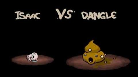 """The Binding of Isaac Afterbirth """"Dangle"""" boss fight"""