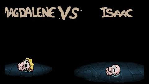 """Binding of Isaac Rebirth """"Isaac"""" boss"""