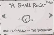 A Small Rock Geheimnis