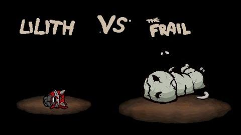 """The Binding of Isaac Afterbirth """"The Frail"""" boss fight"""