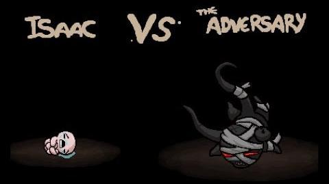 "The Binding of Isaac Rebirth ""The Adversary"" boss"