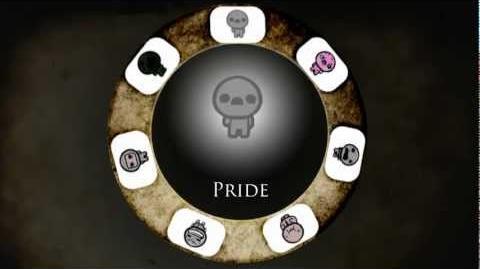 Binding of Isaac 7 Deadly Sins - Pride