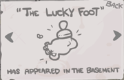Lucky foot secret