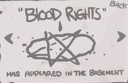 Blood Rights Geheimnis