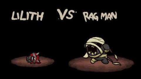 """The Binding of Isaac Afterbirth """"Rag Man"""" boss fight"""