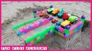 Videos_for_Children_-_Building_Parking_Garage_Cars_with_Assembled_and_Excavator_RC_-_Assembled_Toys