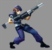 Marvel VS Capcom 2 Jill