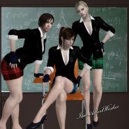 School girl uniforms ftw by iamalbertwesker-d3g4lbs