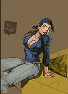Jill valentine colored by hugowolverine-d52foh0