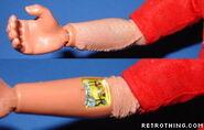 Steve Austin figure arm chip