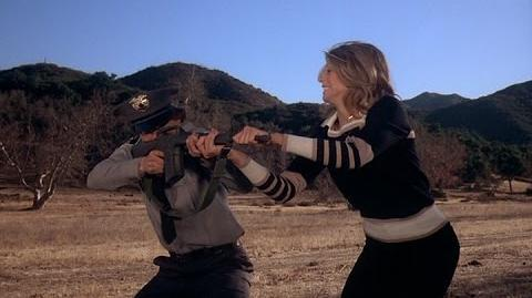 The Bionic Woman - Bionic Female Fighting