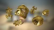 Animation Golden Armor