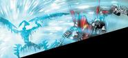 Comic Makuta Krika Absorbing Energy