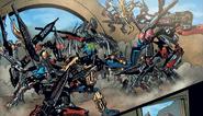 Comic Tarix fighting Skrall