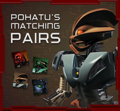 Pohatu's Matching Pairs