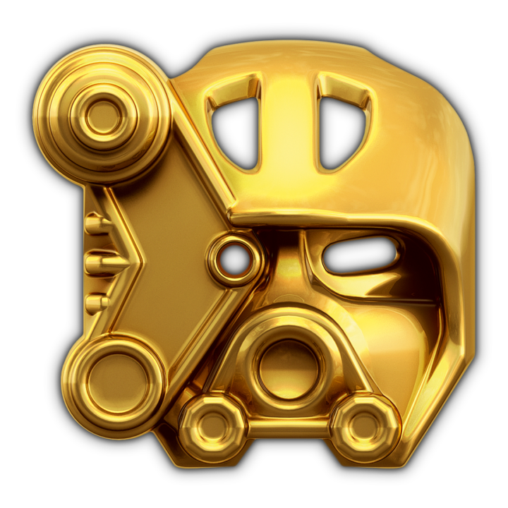 Golden Mask of Ice