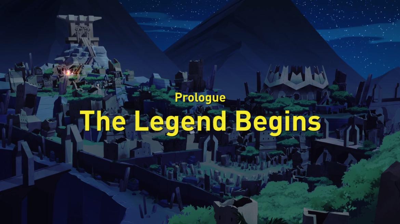 Prologue: The Legend Begins