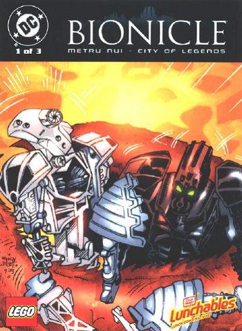 BIONICLE: Metru Nui - City of Legends (series)