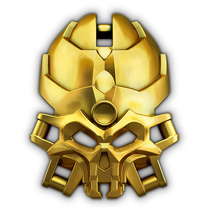 Golden Mask of the Skull Spiders