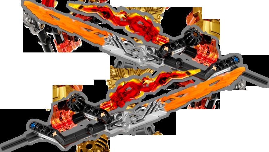 Fire Crystal Blades