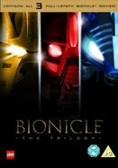 Bionicle the Trilogy front cover