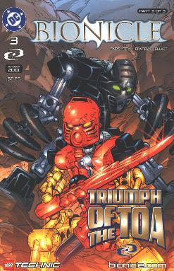 Comic 3: Triumph of the Toa