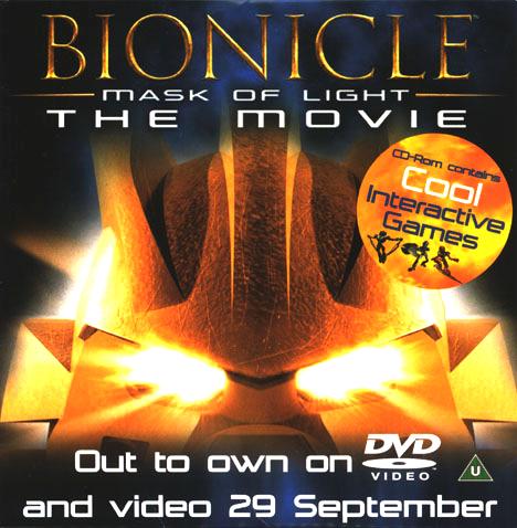 Mask of Light Promo CD
