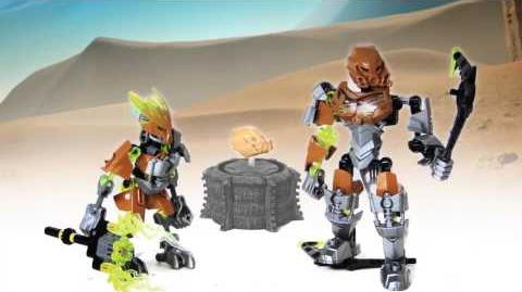 LEGO Bionicle 2015 - Pohatu Protector of Stone Power-Up stop motion