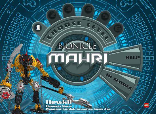 BIONICLE Mahri: Hewkii