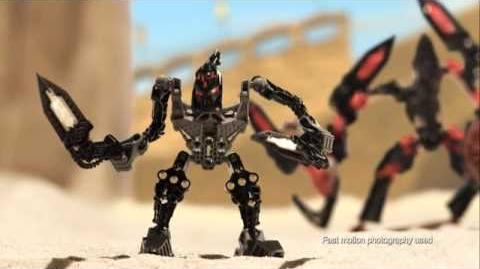 Bionicle Glatorian 2009 Arena Fight