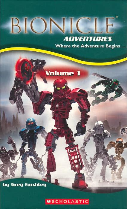 BIONICLE Adventures: Volume 1