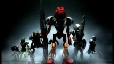Bionicle Toa Nuva and Bohrok-Kal