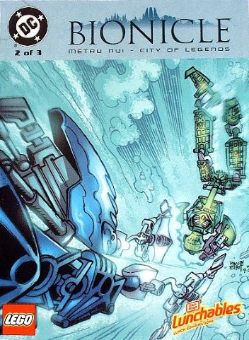 BIONICLE: Metru Nui - City of Legends Comic 2