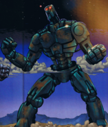 Teridax robotti sarjakuva BM