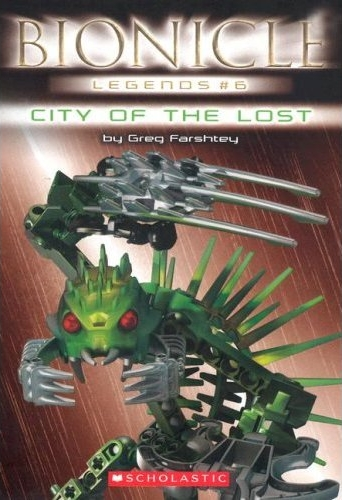 BIONICLE Legends 6: City of the Lost