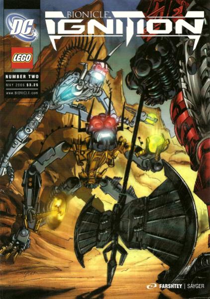 Comic 2: Vengeance of Axonn