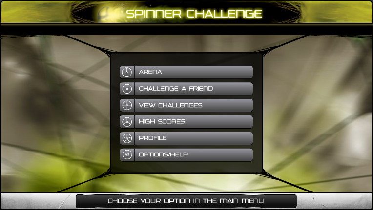 Rhotuka Spinner Challenge
