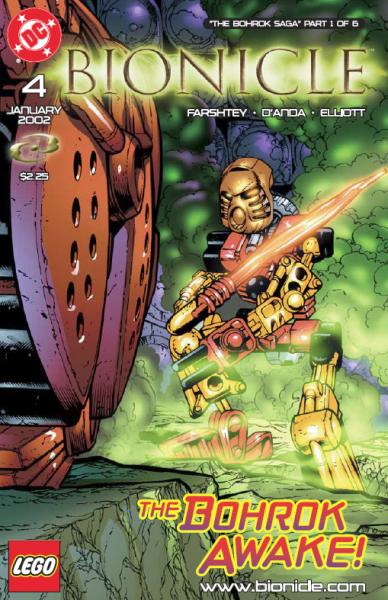 Comic 4: The Bohrok Awake