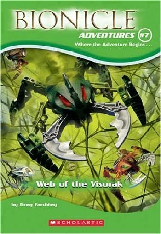 BIONICLE Adventures 7: Web of the Visorak
