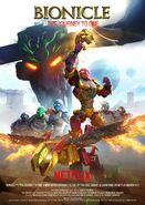 BIONICLE Journey to One (Poster 1)