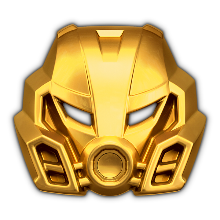 Golden Mask of Stone