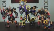 All BIONICLE G2 Makuta Models