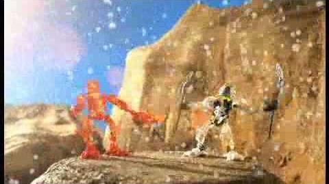 Bionicle Stars Battle Video - Gresh vs Skrall