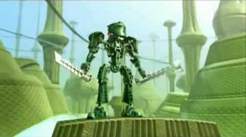 Caught in a Dream Bionicle Music Video